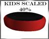 Kids scaled trampoline