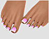 .M. Bubblegum Pedicure
