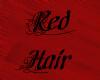 Red Hair, Black Tips