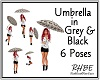 RHBE.UmbrellaGrey&Black