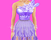 *T* Chiffon Gown purple
