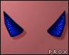 Small D.Blue Horns ♀