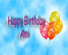 Ami Birthday ballons