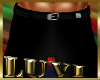 LUVI SLACKS BLACK SATIN
