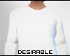 D| Male White Sweater