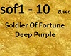 D.P.-Soldier of Fortune
