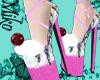 icecream shoes pink