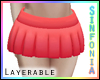 Layerable Red Skirt