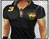 [GM] Polo Black & Yellow