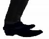 Blue Half Boots