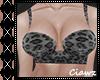 ☪ Dar Cheetah Bralette