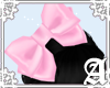 Satin Bow~ Pink