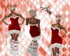-AD- XMAS dress RED