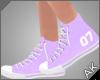 ~AK~ Varsity Shoe: Lilac