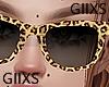 @Leopard Glasses