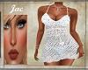 J*CROCHETTED DRESS BLUE