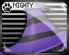 N: Witch Hat Purple