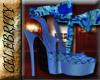 Versace Floral Heels