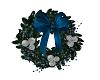 Blue Christmas Wreath