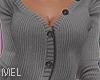 Mel*Sweater Jacket Grey