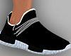 E* Black Sneakers