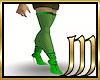 [M]GreenPunkNetStockings