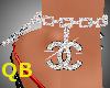 Q~Chanel Anklet Right