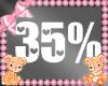 Kids Baby Scaler 35%