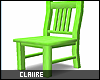 C|Neon Lime Chair