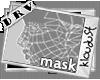 KD^BAE MASK w/LASHES