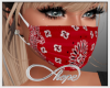 Mask - Red Bandana