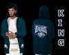 GRN EAGLES HOODY