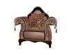 single pose brown chair
