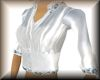 sheer white silk blouse