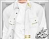 "Ⱥ"" White Fall Shirt"