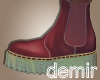 [D] Carol wine boots