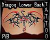 (PB) Dragon Back Tattoo