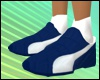 Blue Sport Shoes Female