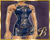leopard n lace blue