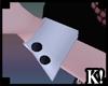 K| Black Bunny Cuffs v2