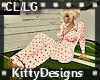 *KD CL/LG PJs pink