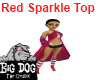 [BD] Red Sparkle Top