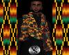 Africa Kente Cloth Scarf