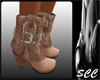 Suade Cowgirl Boots
