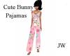 JW Cute Bunny Pajamas