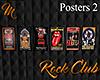 [M] Rock Club Posters 2