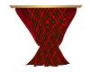 Christmas tarten drapes