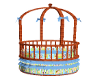 MICKEY BLUE BABY BED