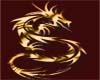 gold dragon maroon top