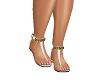 Goddess Sandals White